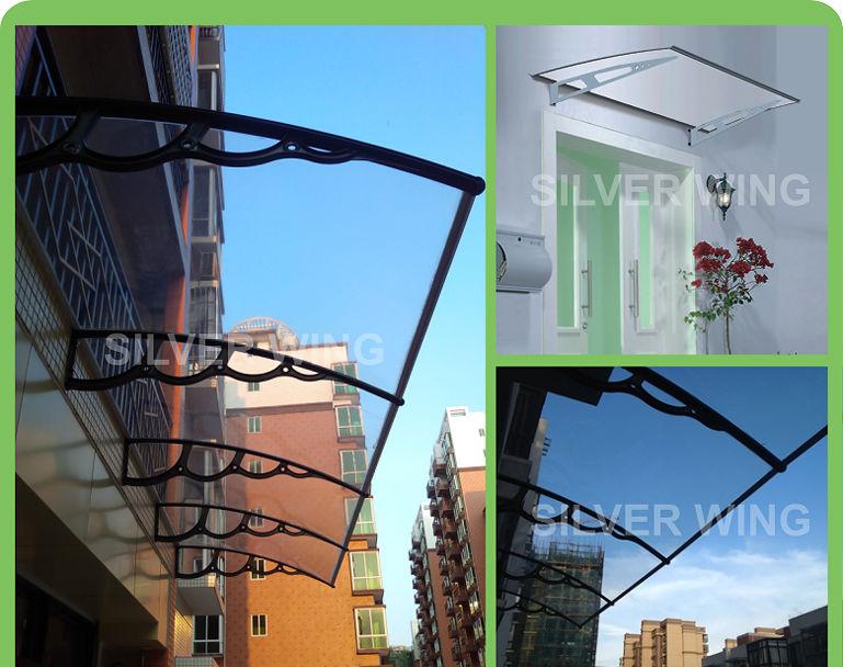polycarbonate awning brackets 2