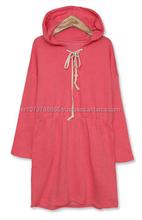 easy sleepwear long hoodie