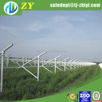 Factory price hot dipped galvanized solar panel bracket for solar ground mounting