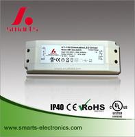 45w 0 10v PWM dimmable led transformer 12v
