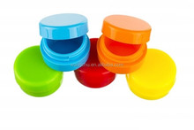 colorful ball silicone container OEM factory
