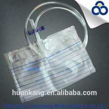 Disposable Urine Bag with T Valve Manufacturer
