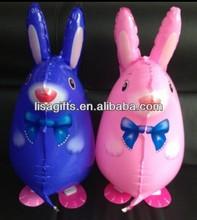 2013 walking pet balloons rabbit