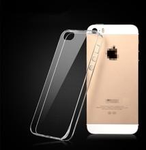 Wholesale TPU case for iphone 6 silicone case transparent ,cover for iphone 5s TPU , for iphone 5s plus tpu case 0.3mm