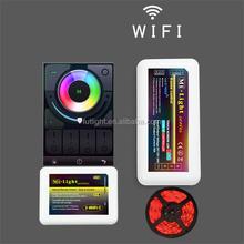 DC12/24V remote control 2.4G RF wireless RGB solar controller m-7