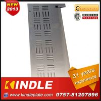 Kindle New customized galvanized sheet metal extruded in Guangdong ISO9001:2008