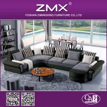 Unique L shaped sofa bed, Arabic Sofa Furniture,Modern Italian fabric sofa set