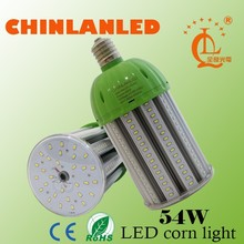 CE RoHS approved 54w led corn bulb, light led replace e40 high bay