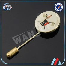 Customized enamel decorative stick pins rhinestone