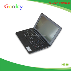 Cheap 9 inch china laptop computer N988 best chinese laptop