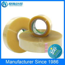 Clear Acrylic Adhesive and Pressure Sensitiv Adhesive Type BOPP Tape