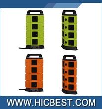 emergency usb desktop socket,desktop travel socket,multiple power socket with rohs usb charger