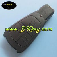Old model 3 buttons car key shell replacement key for mercedes benz without logo mb key shell