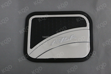 Automobile Accessory Black&Chrome Color Tank Cover For Toyota AYLA 2012 Fuel Tank Cap in Car Exterior 4x4 Accessories