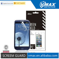 Cell Phone accessories waterproof screen protector for Samsung s3 oem/odm