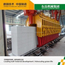 light weight sound insulation brick machine aerated concrete block machine Low investment