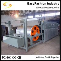 Heat treatment furnace Steel belt drying furnace for metal sludges