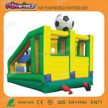 High quality cheap inflatable bouncer with basketball hoop