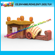 3D Design Classical Jumping Slide, Inflatable Wood Bouncers, Inflatable Magic Bounce