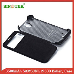 SINOTEK 3500mAh with cover for galaxy S4 battery case+100% tested one by one