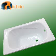 Corner Installation Type and Corner Drain Location enameled steel bathtubs