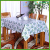 coffee cup printed Pvc customized size vinyl waterproof Table Cloth