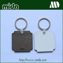 Good Quality Cheap price Sublimation MDF keychain
