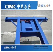 CIMC High Quality 40ft Skeleton Trailer/Container Truck Trailer Chassis/20ft Container Trailer Chasis