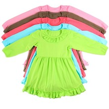 2014 fashion casual high quality 1-6 years old baby girl dress