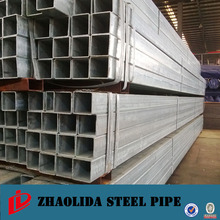 q235 welded galvanized carbon square steel tube ISO certified