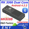 2013&2014 best selling and high quality dual core rk3066 mini pc MK808B enybox