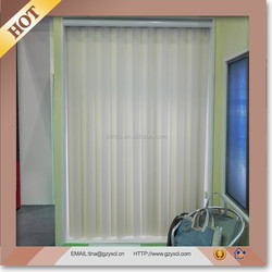 China Home Decoration Curtain Fabric Covered Vertical Blinds