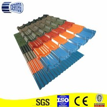 High quality color steel roof tile/color roof philippines/color roof price