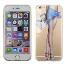 ultra thin phone cover case for iphone,clear tpu transparent case for iphone 6
