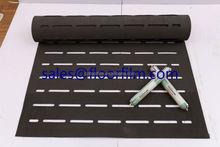 EVA foam wood patterned she outsole sponge rubber foam roll flooring adhesive underlay