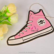 Custom air freshener wholesale supra shoes/ shoes man shape air freshener for car