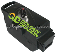 26V electric bike battery replacement with Samsung li-ion cells for Flyer C-serie,T-serie,L-serie,S-serie