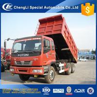 Competitive advantage FOTON VT 6X4 10 wheel 20 ton to 50 ton 15 cbm to 30 cbm big dump tipper truck for hot sale