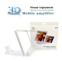Alibaba wholesale Mobile Phone 3D Screen Amplifier, 3D Enlarged Screen for Smartphone,3D magnifier