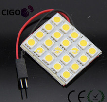 High quality 12v/24v 5050 15, 20SMD car led roof lamp