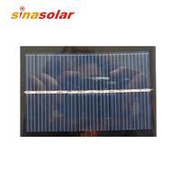 6V 100mA Polycrystalline Mini Epoxy Resin Solar Panel For Electronic DIY 90x60mm 0.6W