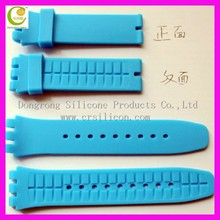 Incredible idea! For apple watch silicone watch band sports silicone watch strap band for silicone watch swatch