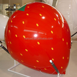 custom advertising giant inflatable orange/inflatable strawberry/inflatable mango / inflatable fruit for sale