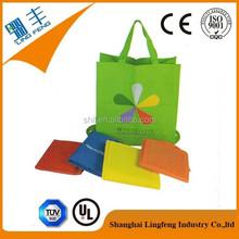 custom shopper bags tote foldable non-woven bags