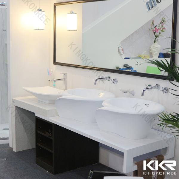Engineered Marble Quartz Stone Bathroom Countertop Quartz Stone Vanity Tops With Sink Buy