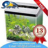 Low price oval acrylic aquarium with high quality