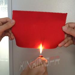 Cotton Nylon flame retardant anti static twill fabric