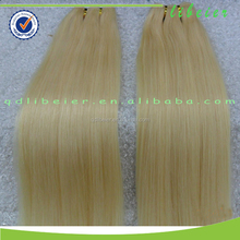 Factory wholesale hair weave, one donor chinese remy 613 human hair weaving