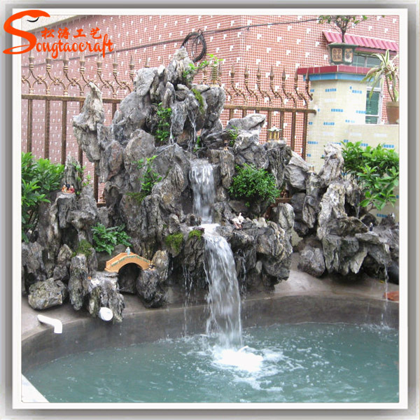 Ornamental fiberglass lowes wall fountains decorative for Ornamental garden features