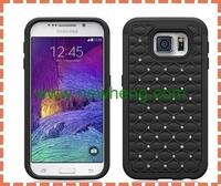 Rhinestone Starry Sky Plated Hard Case For Samsung Galaxy S6